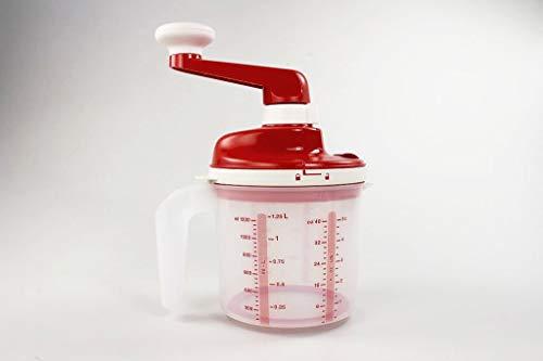 Tupperware Chef Easy Mixx 1,25 L Rouge Blanc 35578