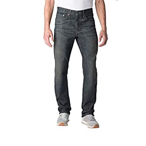 Signature by Levi Strauss & Co. Men's Straight Jeans Blue
