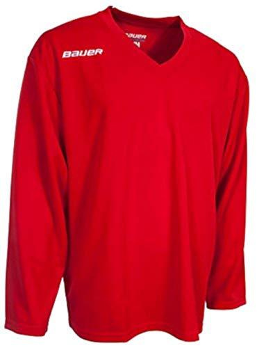 Bauer Flex Trainingstrikot Senior, Größe:XL, Farbe:rot
