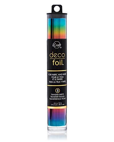 Thermoweb Folie Deco Specialty 6x 12Zoll, Rainbow