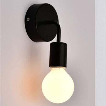 110 V 220 V hout wandlamp modern voor huis lamp vintage retro wandlamp lamp lamp zwart