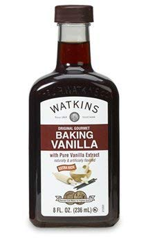 Watkins Original Gourmet Baking Vanilla Extract 8 ounces (With Pure Vanilla Extract)