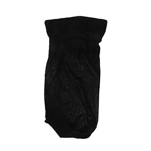 1pièce Homme Femme Stocking Perruque Liner Cap Snood Nylon stretch en maille creux Chapeau Kaarifirefly