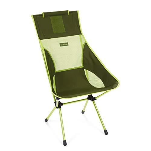 Helinox Sunset Stuhl Green Block/Melon 2020 Campingstuhl