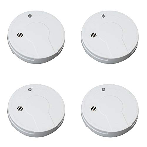 Kidde Smoke Detector Alarm | Battery Operated | Model # i9050 Pack of 4