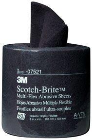 3M Company 3M-7521 Scotch-Brite Multi-Flex Abrasive Sheet Roll