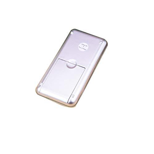 Tree-on-Life 500g / 0.1g Báscula de pesaje de Alta precisión Báscula de Cocina electrónica Digital Báscula de Bolsillo portátil para joyería - Plata