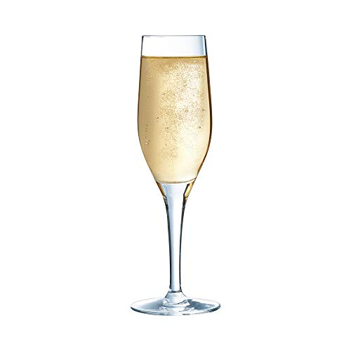 Chef & Sommelier ARC E7700 Sensation Exalt champagneglas, 190 ml, Krysta kristalglas, transparant, 6 stuks