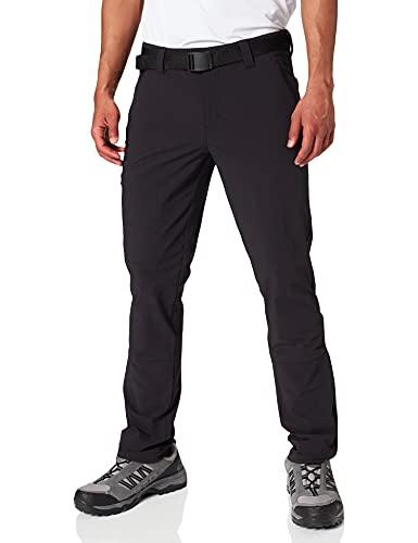 Maier Sports Herren Trekkinghose Naturno Slim, Black, 52, 132022