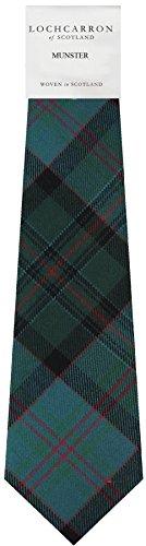 I Luv Ltd Gents Neck Tie Munster Irish Tartan Lightweight Scottish Clan Tie