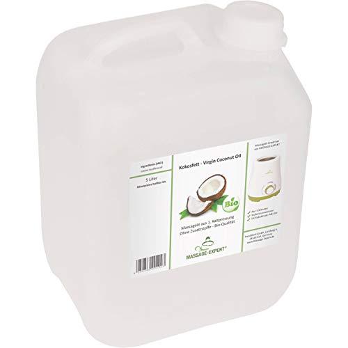 Preisvergleich Produktbild Kokosöl,  Virgin Coconut Oil,  VCO,  Bio-Qualität,  erste Kaltpressung,  5 Liter