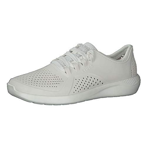 Crocs Men's LiteRide Pacer Sneaker | Comfortable Tennis Shoes for Men, Scarpe da Ginnastica. Uomo, Bianco, 44 EU