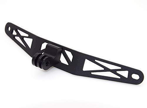 WONYAN Motorfiets Onderdelen Recorder houder for GoPro Camera Bracket Past BMW K1600B K1600GA K1600GT K1600GTL (Color : Black)