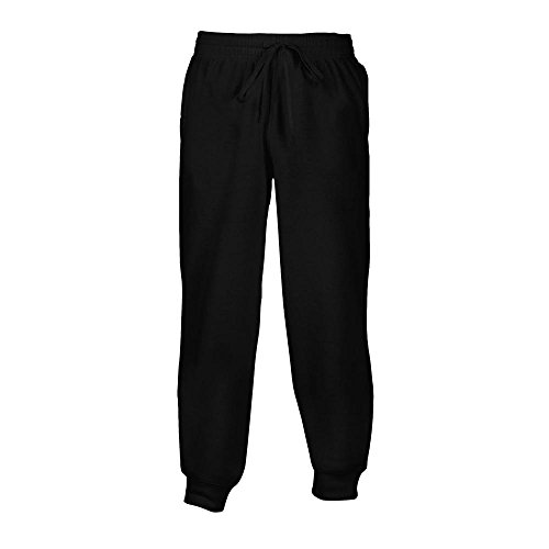 Gildan Unisex Heavy Blend Sweathose bis 5XL/Black, L