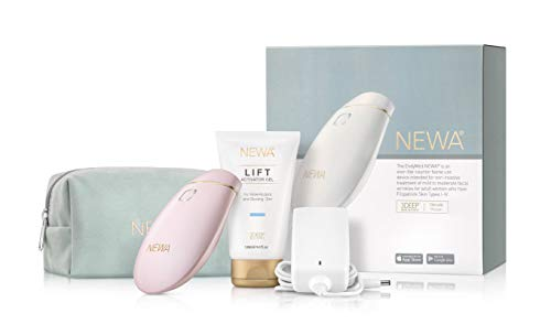NEWA Clinically Proven Anti-aging Skin Tightening Technology (FDA CLEARED). Triggers New Collagen Production And Reduces Wrinkles, Tightens and Lifts The Skin. (Pink)
