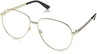 Gucci GG0138S Pilot Unisex Sunglasses Size 61 mm