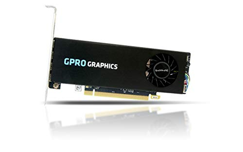 SAPPHIRE GPRO 4300 4G GDDR5 PCI-E Quad miniDP in Brown Box UEFI 128bit 1 Slot Active