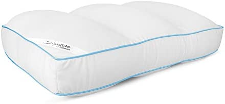 Cloudz Signature Premium Hypoallergenic Stay Cool Ultra Soft Microbead Bed Pillow White product image