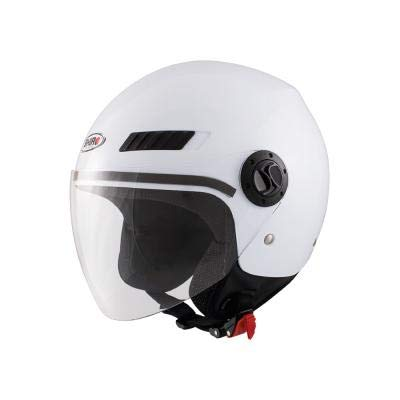 Shiro 128.0062040XXS Casco Jet, SH62, GS, Hombre, Blanco, XX-Small