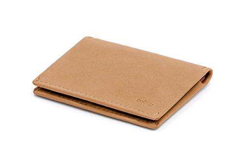 Bellroy Bellroy Leather Slim Sleeve Wallet, Minimalistische Geldbörse mit Fronttasche - Tan