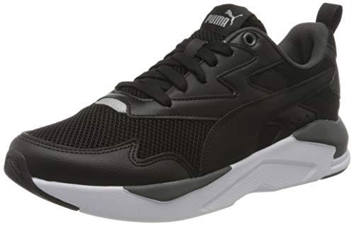 PUMA Unisex-Erwachsene X-ray Lite Sneaker, Black Black-Dark Shadow Silver, 42 EU