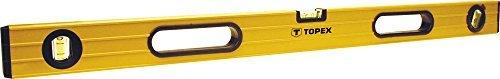 Topex Aluminium-Wasserwaage, 120cm, 3 Libellen 29C605