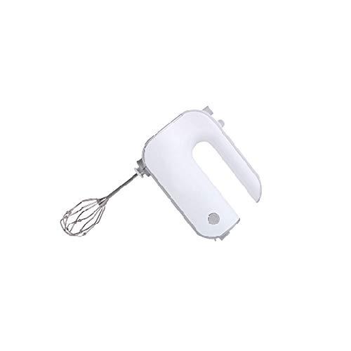 Heigmzddq Barillas Batir Batidor eléctrico de la cocina del hogar de la cocina de la cocina MULTIBLE MANQUILLO DE MANO (Color : White)