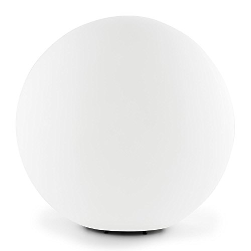 Craft Lightcraft Shineball XL lámpara para Exteriores (40 W Ahorro energetico, 50 cm diámetro, Esfera, Ligera, Resistente al Agua, Cable de 2 Metros, Incluye Material de Montaje) - Blanco