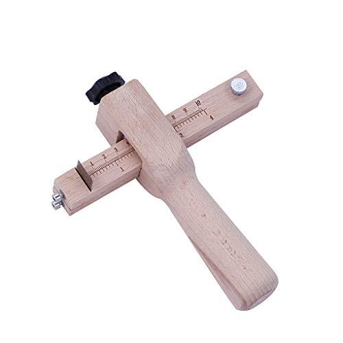 Flushzing Ledergürtel Slicing Werkzeug verstellbare Holz DIY Leder Profis Amateure Anfänger Strap-Streifen-Werkzeug