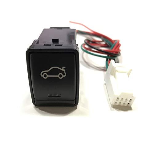 1pc LED Frontal trasero Después de la luz de niebla Sensor de estacionamiento de radar Recorder Sensor de la cámara Monitor del interruptor del tronco del interruptor de Botón para Nissan Navara