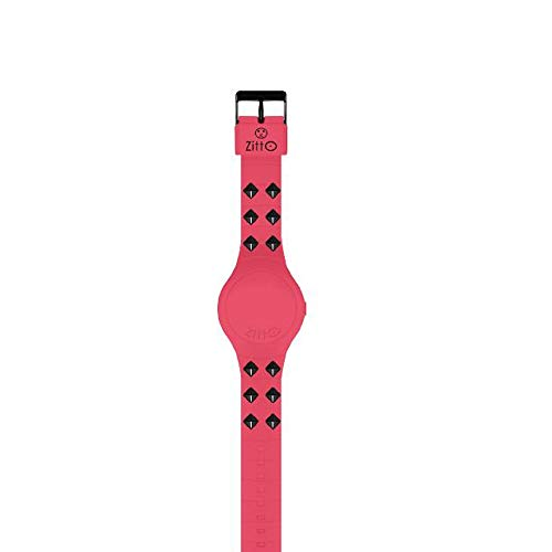 Orologio digitale piccolo ZITTO REBEL DARK in silicone rosa PINKLINK-MINI-LI