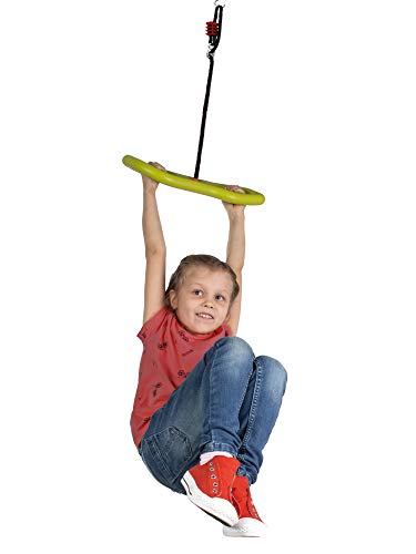 BIG Spielwarenfabrik 800056744 - BIG Activity Swing, 3-in-1 Multifunktions- verstellbare Kinder-Schaukel, ab 5 Jahren - 4