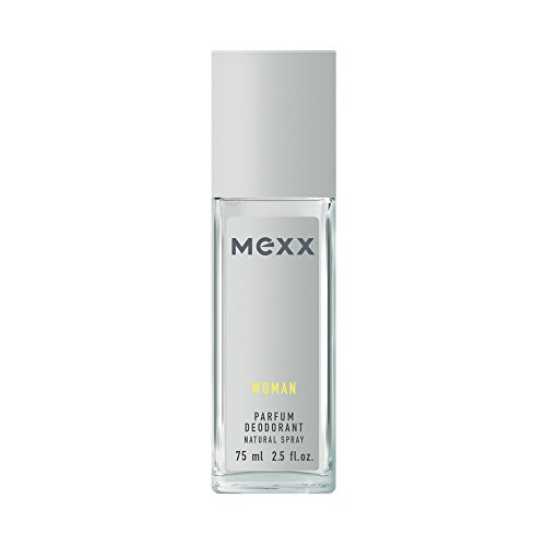 Mexx Mexx woman - parfüm deodorant natural spray - blumig-frisches damen deo mit zitrone rose und jasmin - 1er pack 1 x 75ml