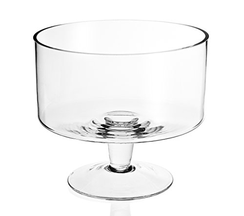 Badash - Lexington Mouth Blown Glass Trifle Bowl 9""
