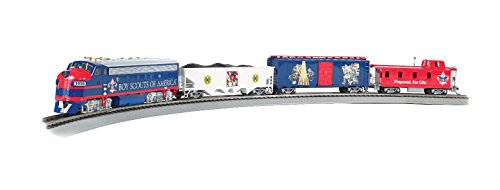 Bachmann Trains 1503 Electric Train Set, Multi, 56'x38' Oval