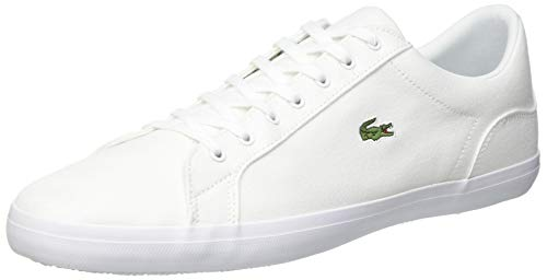 Lacoste Lerond BL 2 CAM, Zapatillas Hombre, Blanco (White), 41 EU
