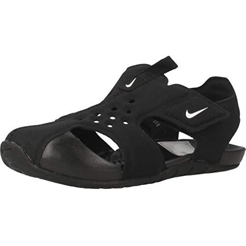 Nike Jungen Sunray Protect 2 Sport Sandalen, Schwarz (Black/White 001), 33.5 EU