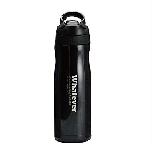 socoola Isolierte Becher Vakuumflaschen 304Edelstahl Thermos Tasse Wasserflasche Mit Haken 550ML B3