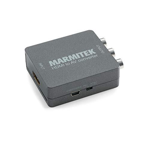 HDMI zu SCART Adapter - Marmitek Connect HA13 - Digital Video Konverter - RCA - Composite - PAL - NTSC - 1080P - Full HD - Neue AV Quelle mit alte Fernseher - Keine Software notwendig