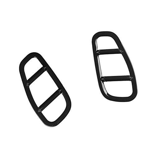 ZHIXIANG Aufkleber Side Lampenabdeckungen Dekor gepasst for Jeep Renegade 2015-2019 Styling-Zubehör ABS-Kunststoff