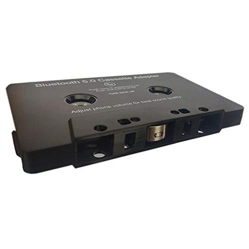Dreameryoly Adaptateur Cassette Universal Smartphones, Cassette Audio Bluetooth vers Adaptateur Auxiliaire pour Batterie De Voiture