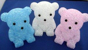 YSVS『くま型LEDランプブルーかわいい熊さんのキャンドルライト』
