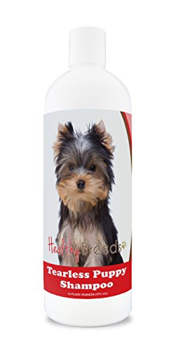 Healthy Breeds Shampoo and Conditioner for Puppies for Yorkshire Terrier - OVER 100 BREEDS - Nourishes & Moisturizes for Growth - Safe with Flea and Tick Topicals - 16 oz