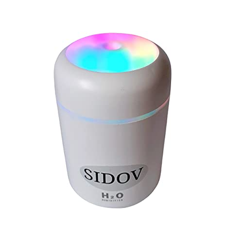 SIDOV, mini humidificateur ultrasonique usb,...