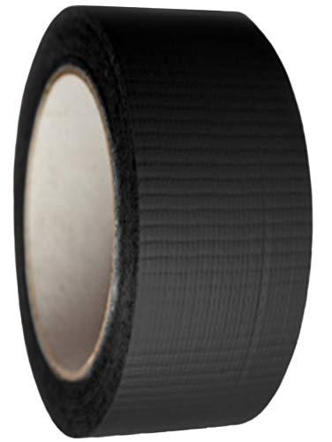 9x Industrie Gewebeband Panzerklebeband DuctTape Gewebeklebeband Steinband Gaffa schwarz