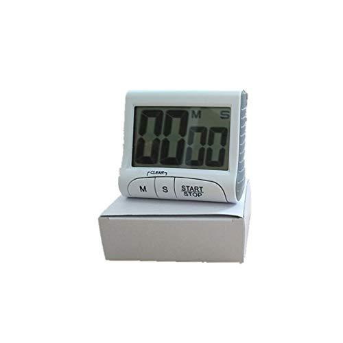 WONOOS Digital Kitchen Cooking Timer, Magnetische Countdown-Uhr Großer LCD-Bildschirm Lauter Alarm, Memory-Funktion und Ständer zum Kochen Siesta Study Exercise Etc