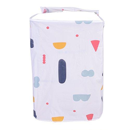 GLOGLOW - Copertura per lavatrice, protezione antipolvere per lavabiancheria anteriore e superiore, resistente alla polvere con cerniera (carico superiore)