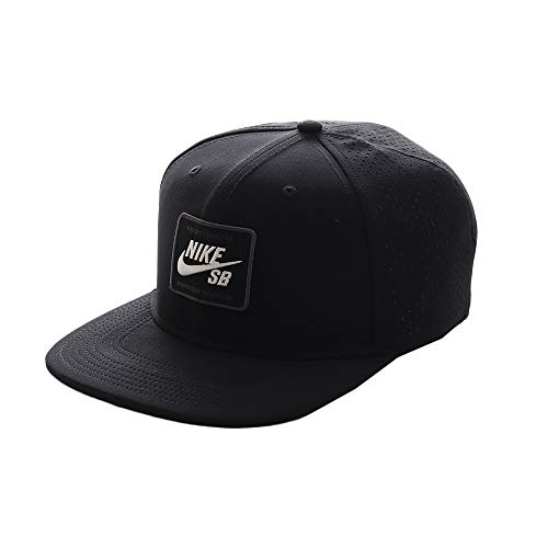 Nike Erwachsene Kappe U Nk Arobill Pro Cap 2.0 Einheitsgröße Schwarz/Weiß