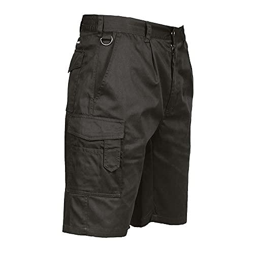 Portwest Short de Combat - Couleur: Noir - Taille: M, S790BKRM