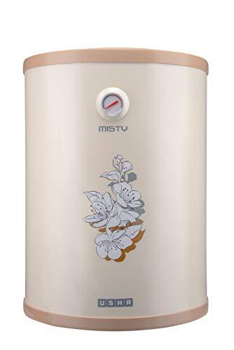 Usha Misty 25 LTR 2000-Watt 5 Star Storage Water Heater (Ivory Cherry Blossom)